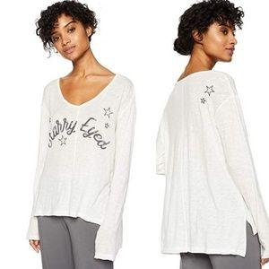 PJ Salvage Starry Eyed Lounge Sleep Shirt